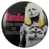 Blondie - 'One Way or Another' Button Badge